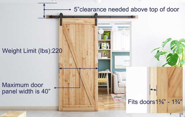 Best Barn Door Track Kit Budget Friendly Easy Install